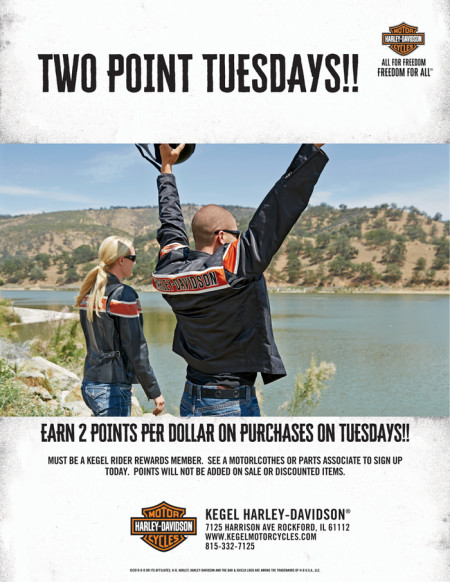 TWO POINT TUESDAYS