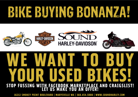 Bike Buying Bonanza!