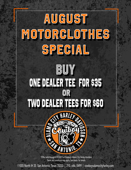 Motorclothes August Specials