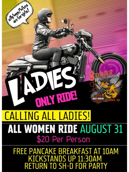 Ladies Only Ride