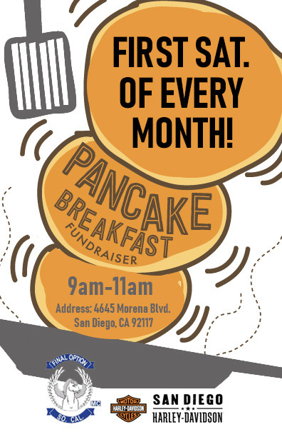Monthly Pancake Breakfast!