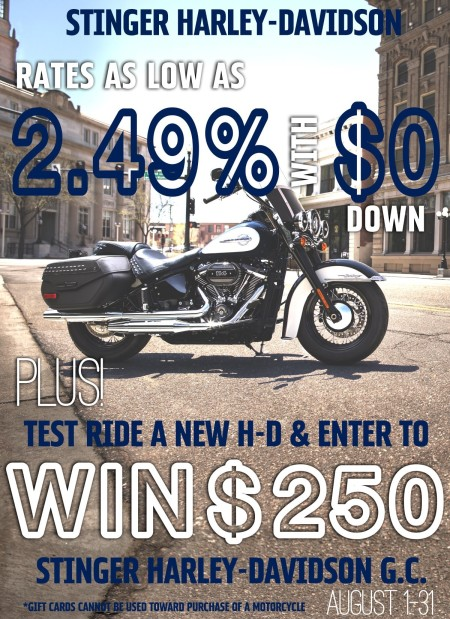 Test Ride and Win!