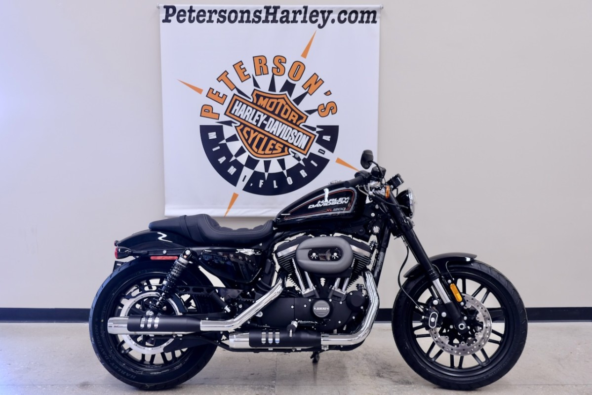2019 Sportster 1200 Roadster in Vivid Black