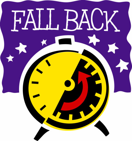 Daylight Savings Time Ends (Fall Back)