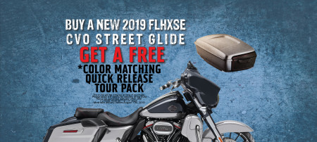 FLHXSE CVO Tour Pack Offer!