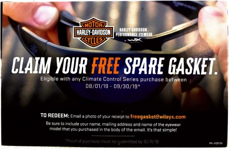 Claim Your Free Spare Gasket.