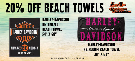 20% Off Beach Towels
