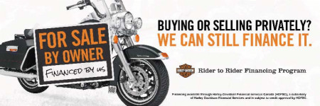 Buying a Bike from Another H-D® Rider?