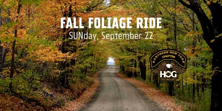 NNY H.O.G.® Fall Foliage Ride