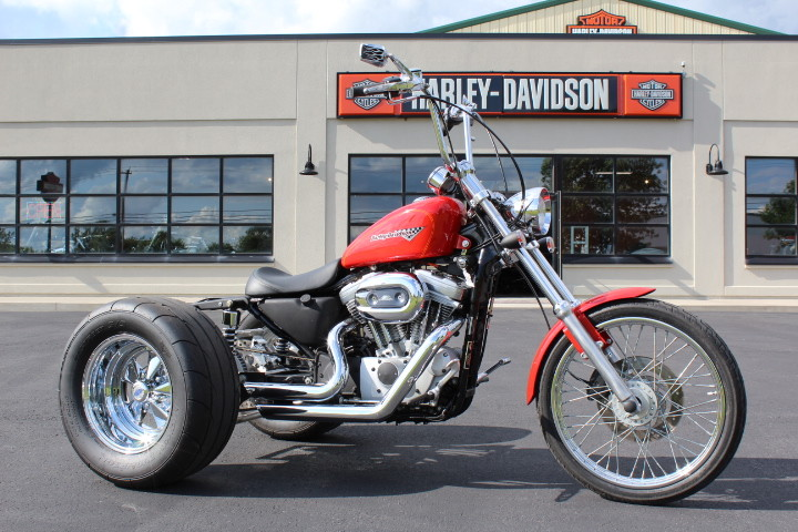 2002 HD XLH 883 CUSTOM w/ Champion Trike Kit