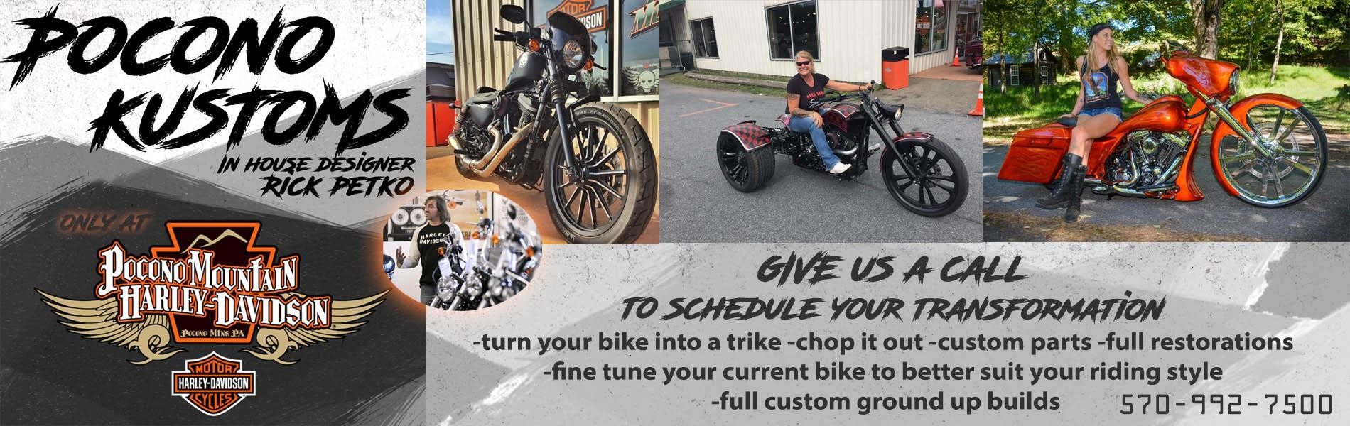 Pocono Harley Davidson >> Pocono Kustom S Past Fabrication And Customization Work Pocono
