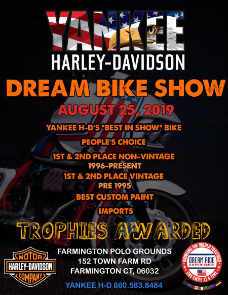 DREAM BIKE SHOW @ THE DREAM RIDE EVENT
