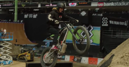 Watch X Games stars play with electric concepts from Harley-Davidson UK here.