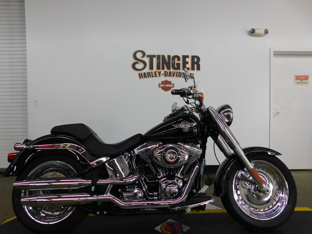 2013 HARLEY-DAVIDSON Softail Fat Boy FLSTF103