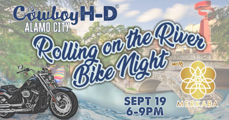 Rolling on the River Bike Night