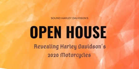 Open House for Harley-Davidson's 2020 Motorcycles
