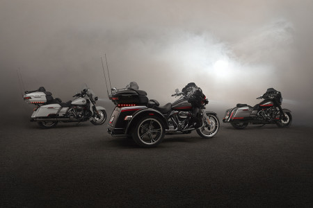 New Harley-Davidson® CVO™ Tri-Glide® Motorcycle is the Ultimate Trike