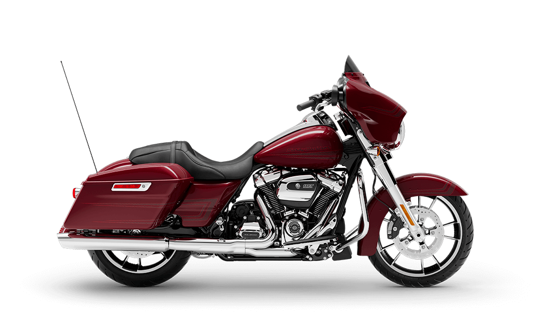 2020 Street Glide in Stiletto Red