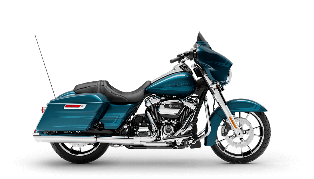 2020 Street Glide in Tahition Teal