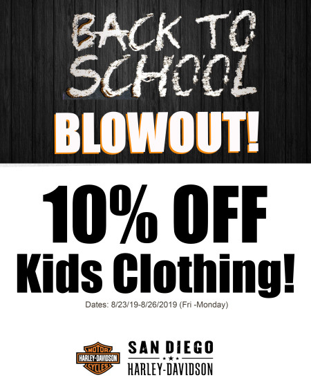 MotorClothes Promotion | Back To School Blowout