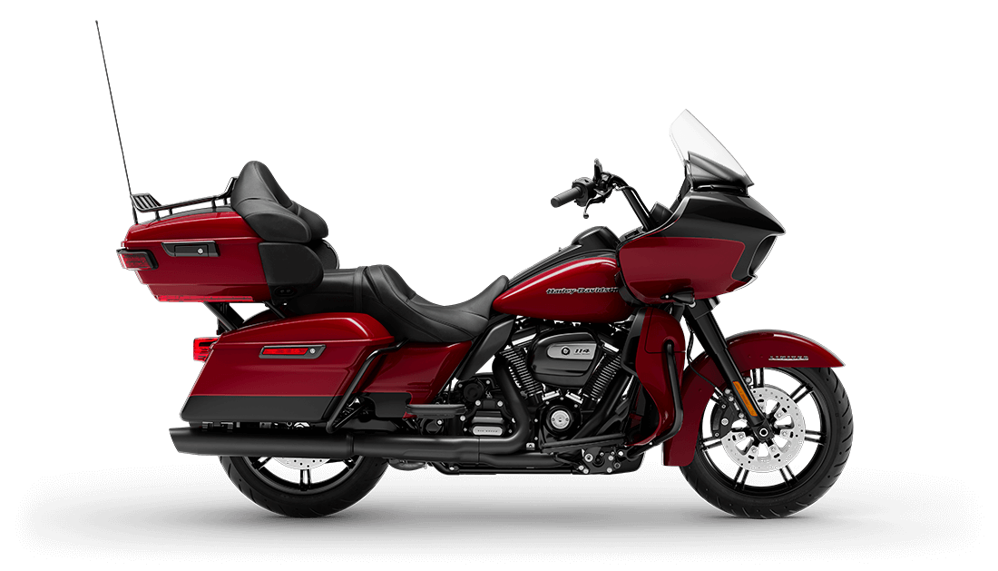 2020 Road Glide Limited in Billiard Red / Black