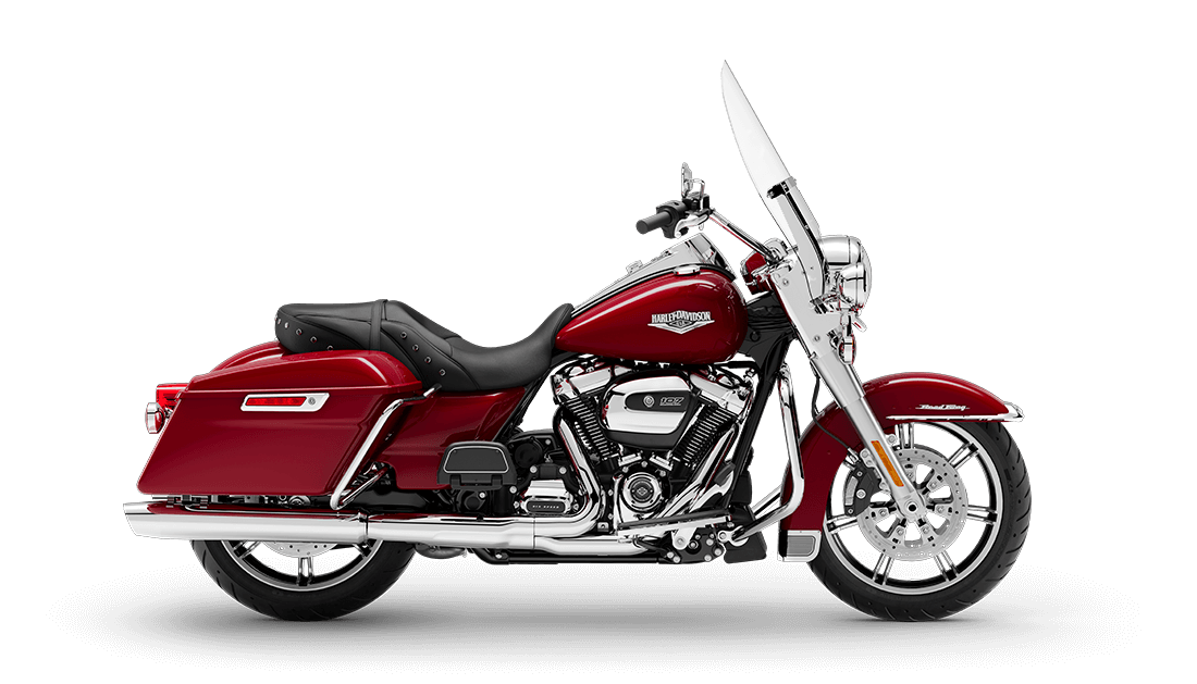 2020 Road King in Billiard Red