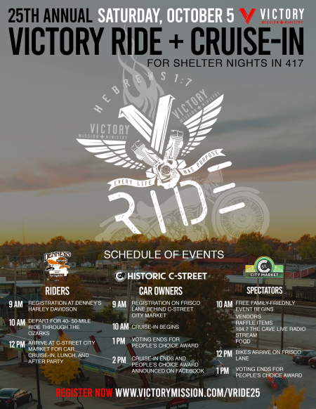 25th Victory Ride + Cruise-In