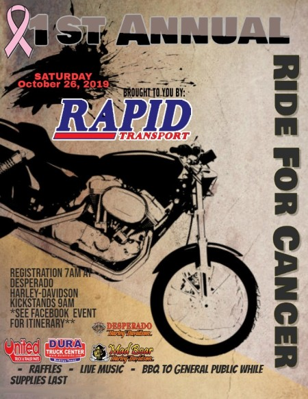 Rapid Transport: Ride for Cancer