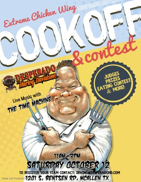 Chicken Wing Cook Off & Contests