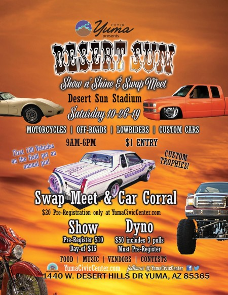 Desert Sun Show n' Shine & Swap Meet