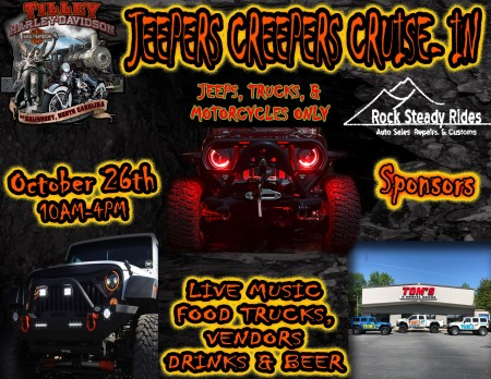 Jeepers Creepers | Tilley Harley-Davidson® of Salisbury