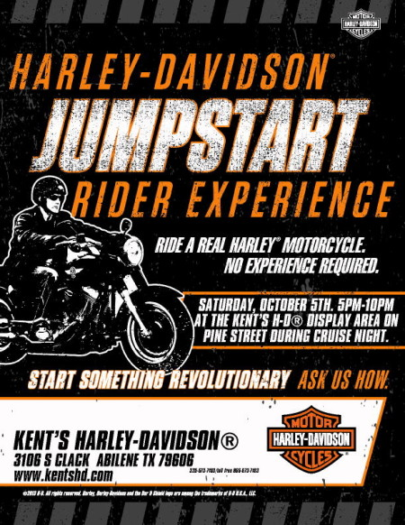 H-D JUMPSTART RIDER EXPERIENCE @ CRUISE NIGHT