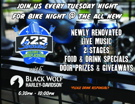 Bike Nights at 423 Social