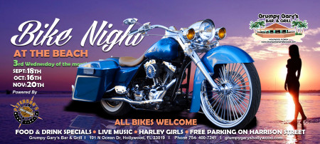 Bike Night At The Beach
