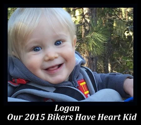 Logan, our 2015 Bikers Have Heart Kid