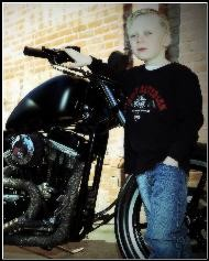 Luke, our 2014 Bikers Have Heart Kid!