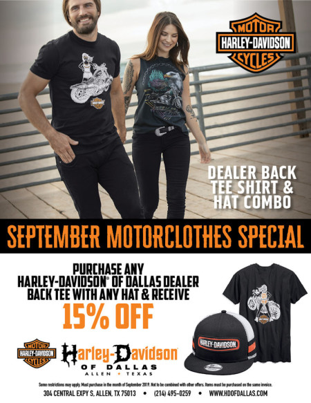 September Motorclothes Special