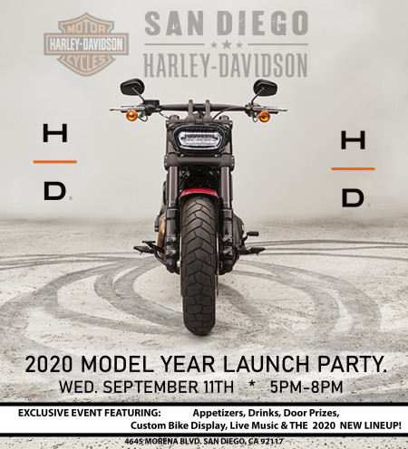 Model Year 2020 Launch Party/Bike Night!