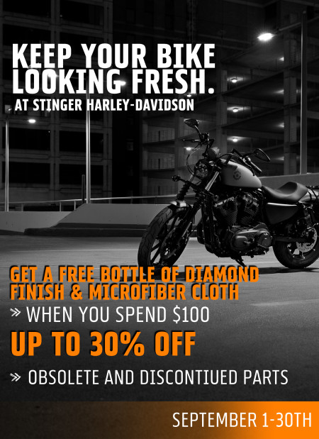 Keep your bike looking fresh!