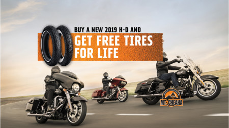 Free Tires For Life w/ Purchase Of New 2019