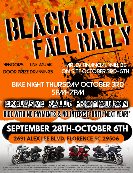 Black Jack Fall Rally