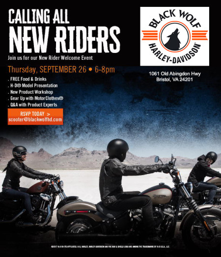 New Riders Welcome Event