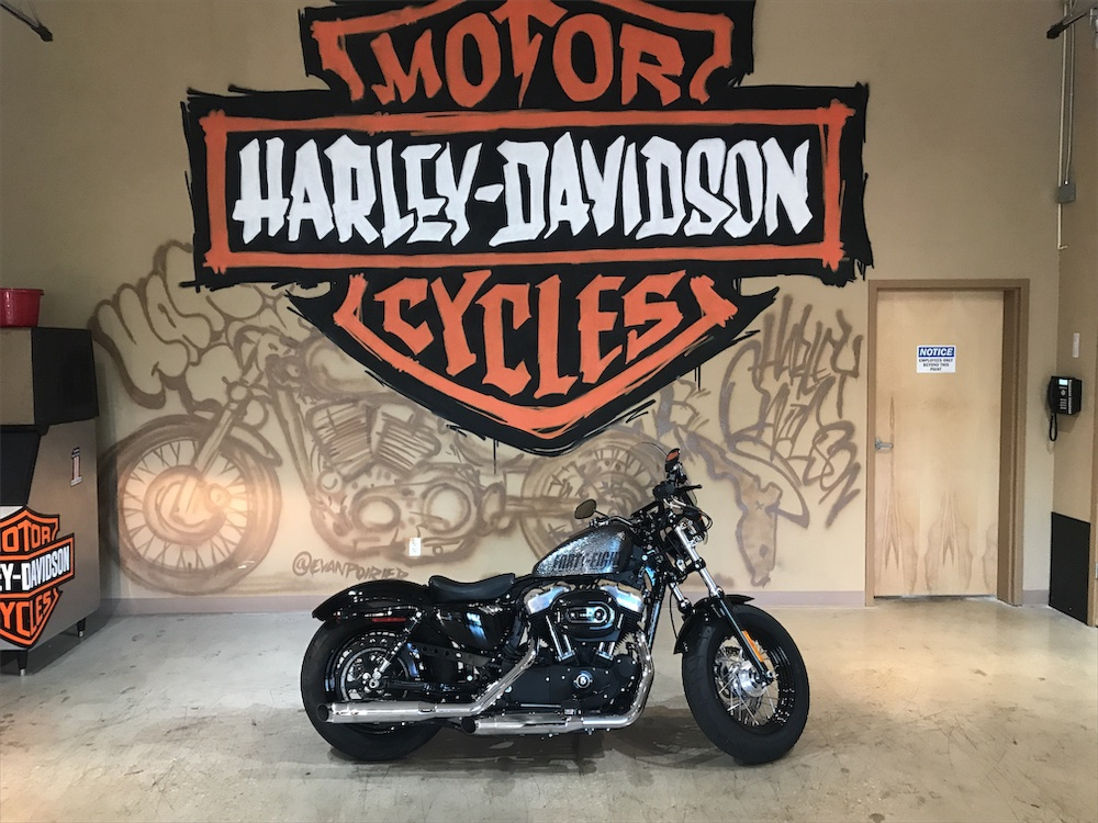 2014 H-D XL1200X Forty-Eight Sportster