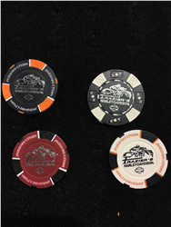 Frazier's H-D Poker Chip