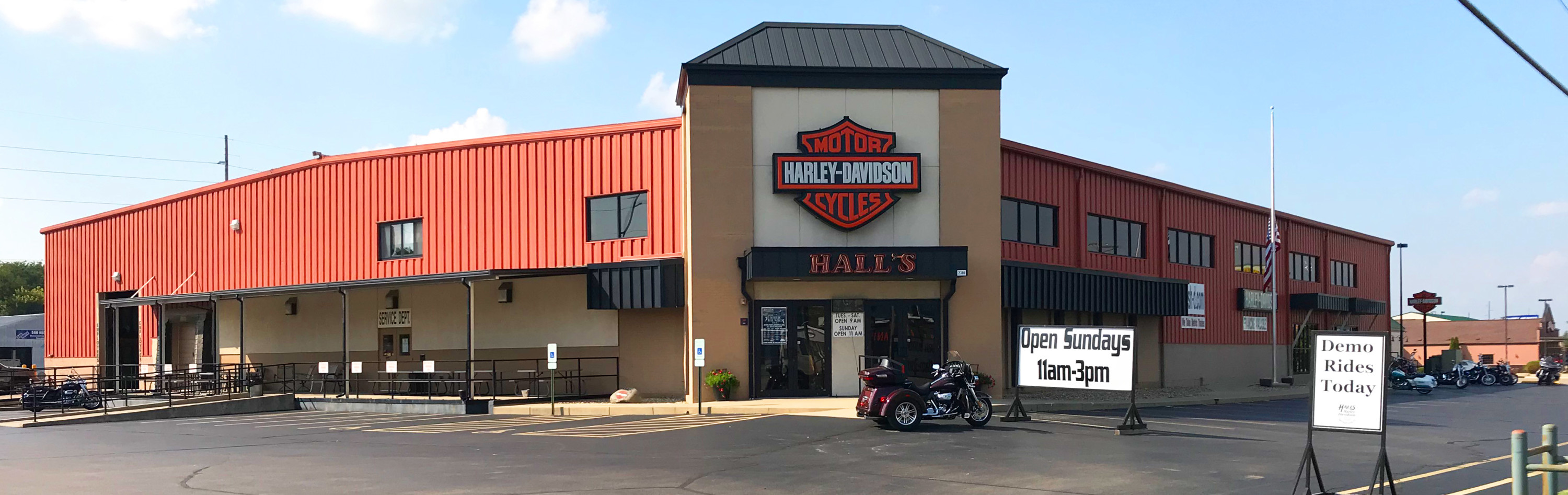 About Hall's H-D®