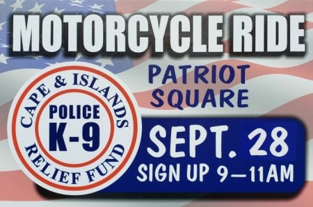 Cape & Islands Police K9 Relief Fund 11th Annual Motorcycle Run