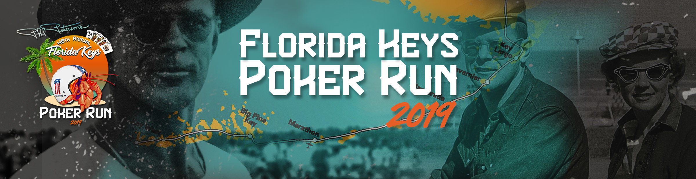 Phil Peterson's 46th Annual Florida Keys Poker Run 2019