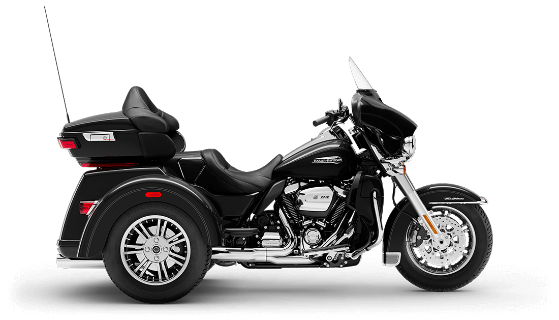 2020 FLHTCUTG Tri Glide Ultra in Vivid Black