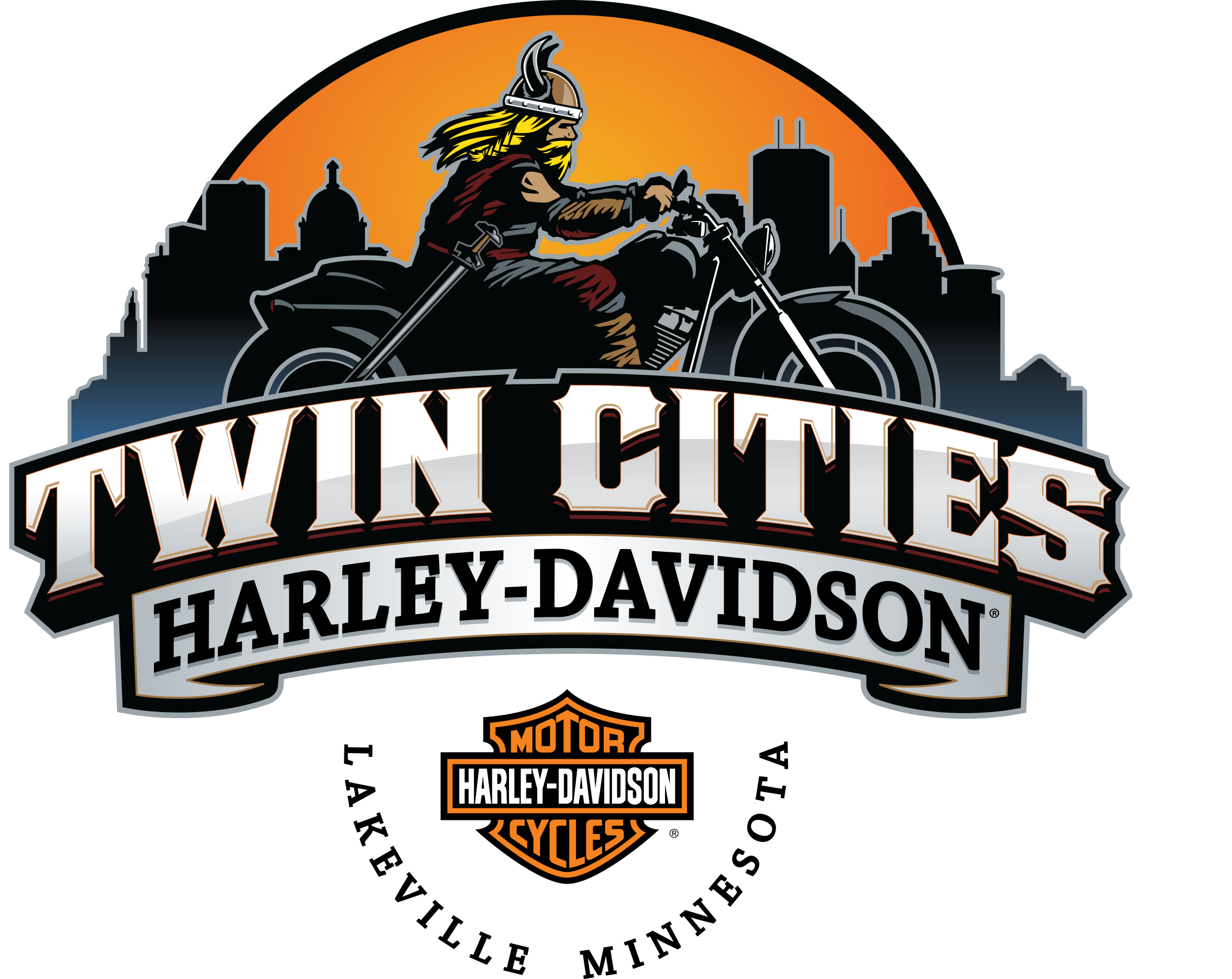 Twin Cities Harley-Davidson® South logo