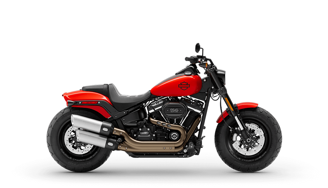 2020 Fat Bob S in Performance Orange